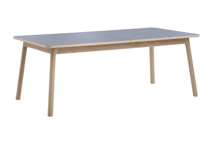 caso 700 dining table oak grey