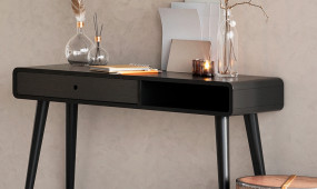 Caso desk black HR