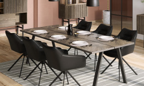 CASO 230 Dining table smoked