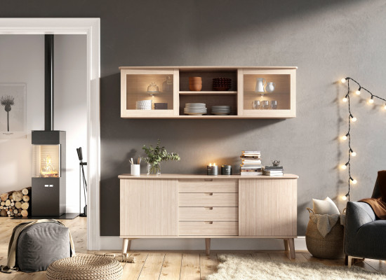Sideboard hanging unit
