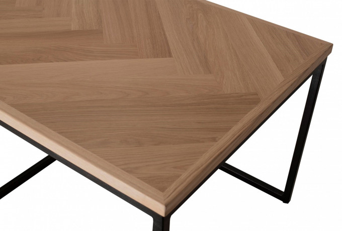 Herringbone coffeetable 130x65 3