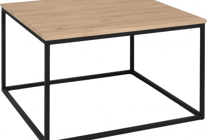 Caso Sanne Coffee table white 80x80 2332